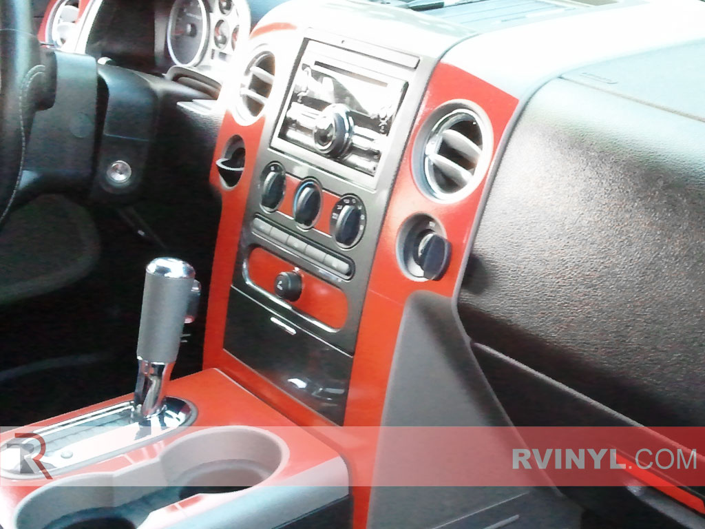 Ford F-150 FX4 / Lariat 2004-2008 Dash Kits With Shifter Trim