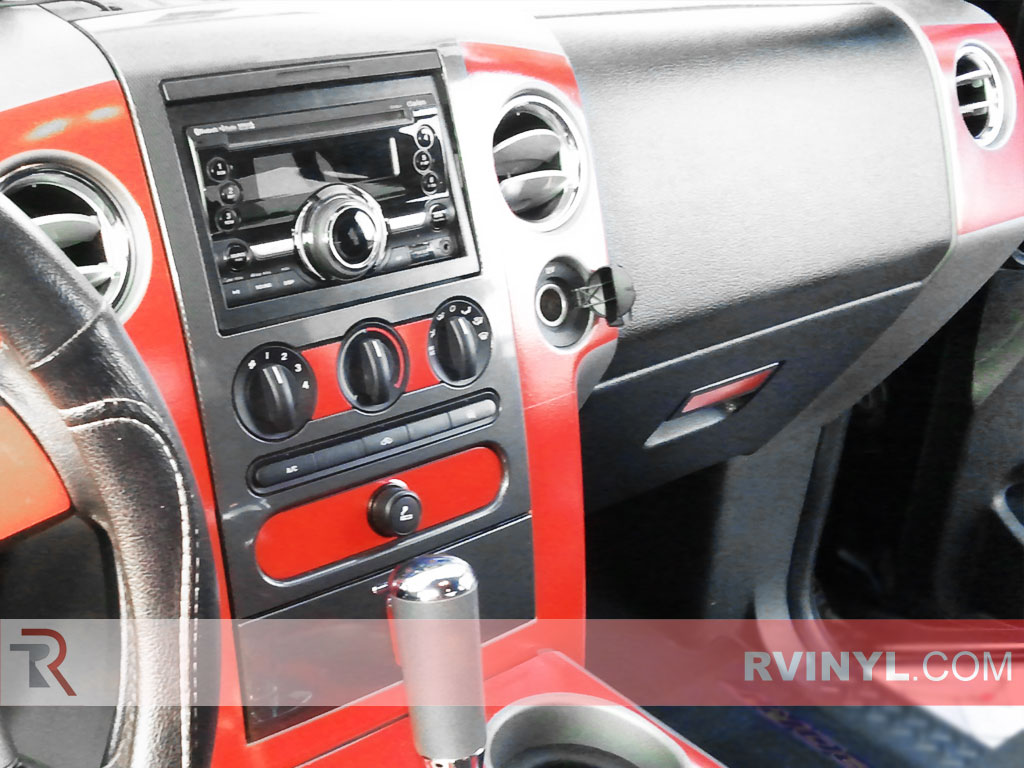 Ford F-150 FX4 / Lariat 2004-2008 Dash Kits With Factory Radio Surround