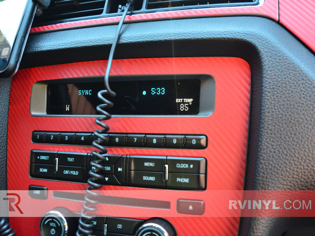 Radio & Climate Trim for Ford Mustang