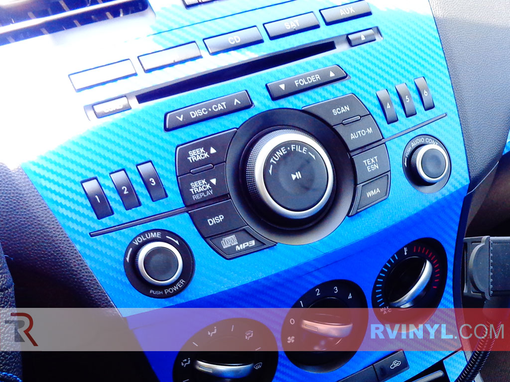 Radio Trim Mazda 3 Carbon Fiber Dash Kit