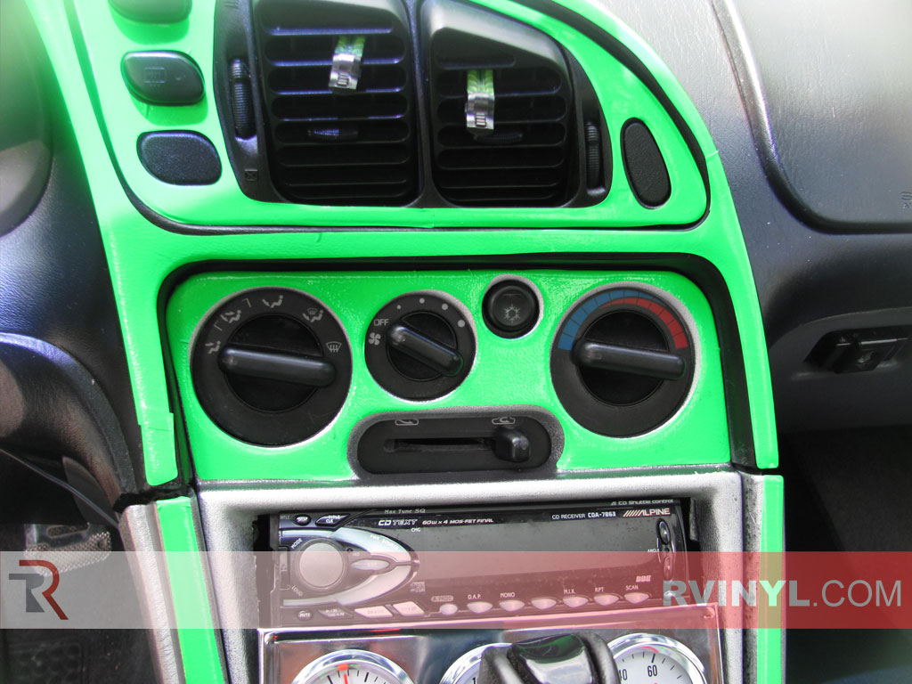 Mitsubishi Eclipse 1995-1999 Green Dash Kits