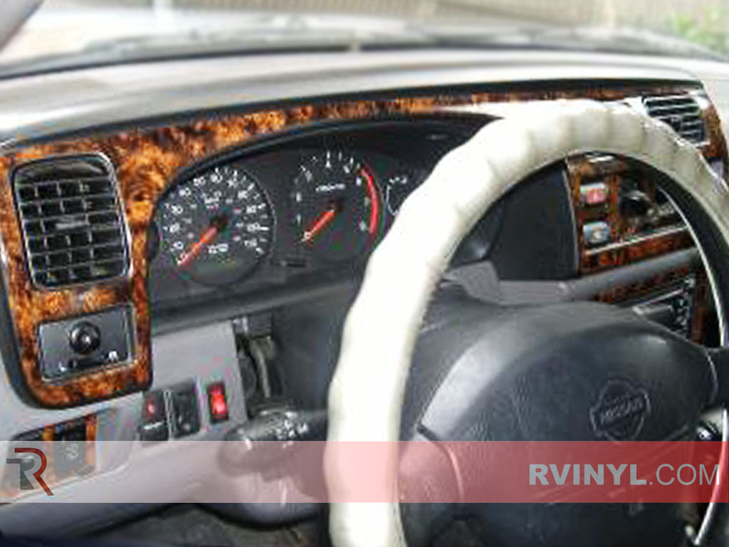 Nissan Frontier 2001 Dash Kits With Gauge Cluster Trim