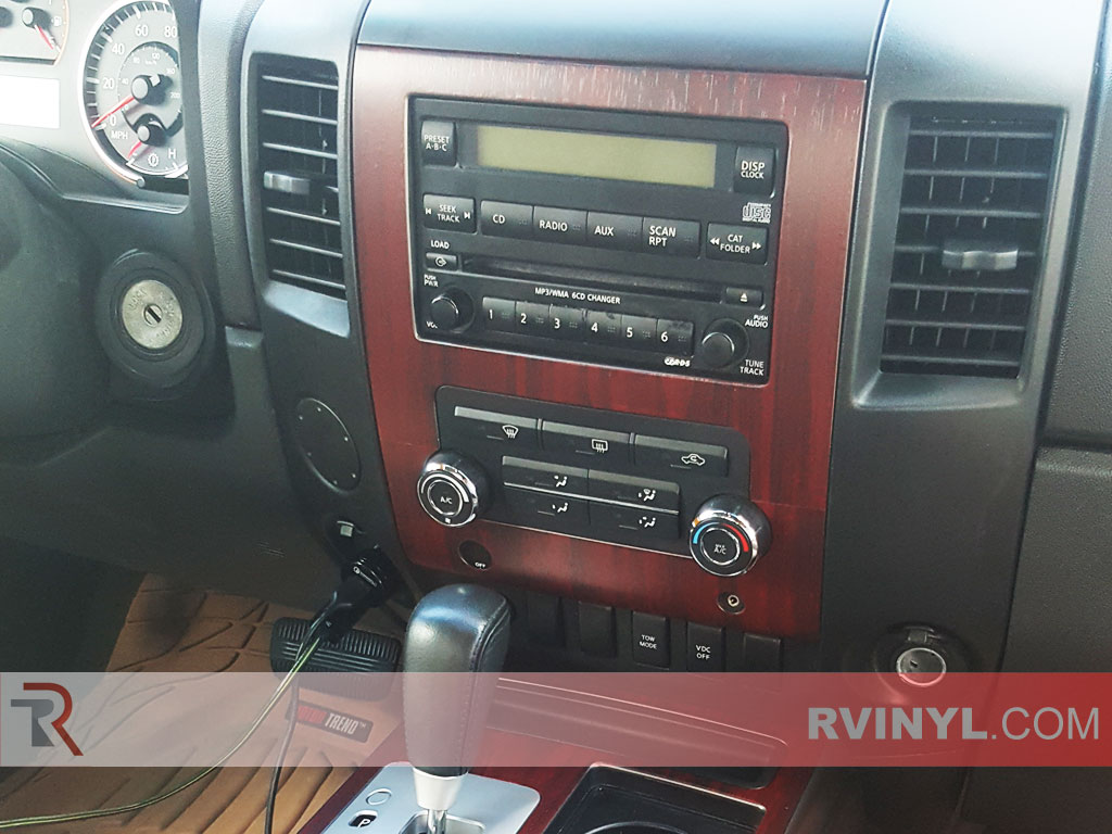 Rdash® 2008-2012 Nissan Titan Wood Dash Kit