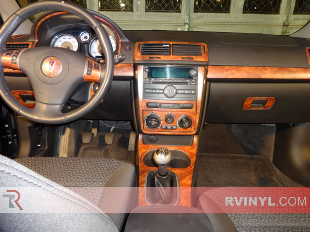 Rdash® Pontiac G5 2007-2009 Honey Burlwood Dash Kits