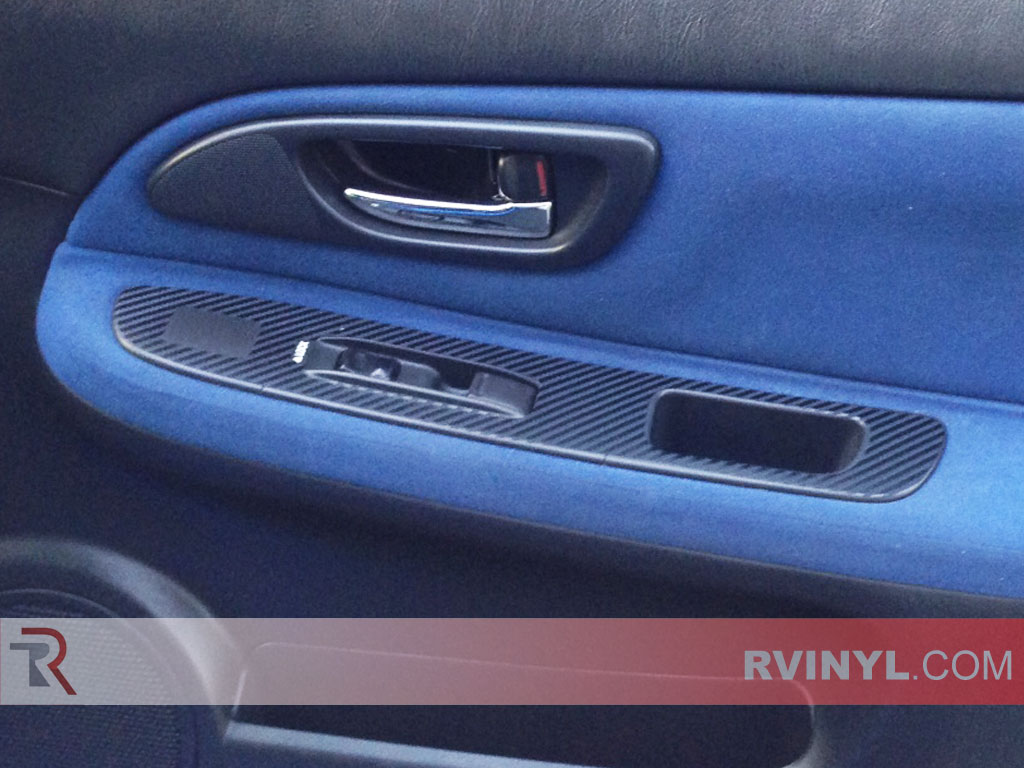 Saab 9-2X 2005-2007 Customized Dash Kits With power Window Trim