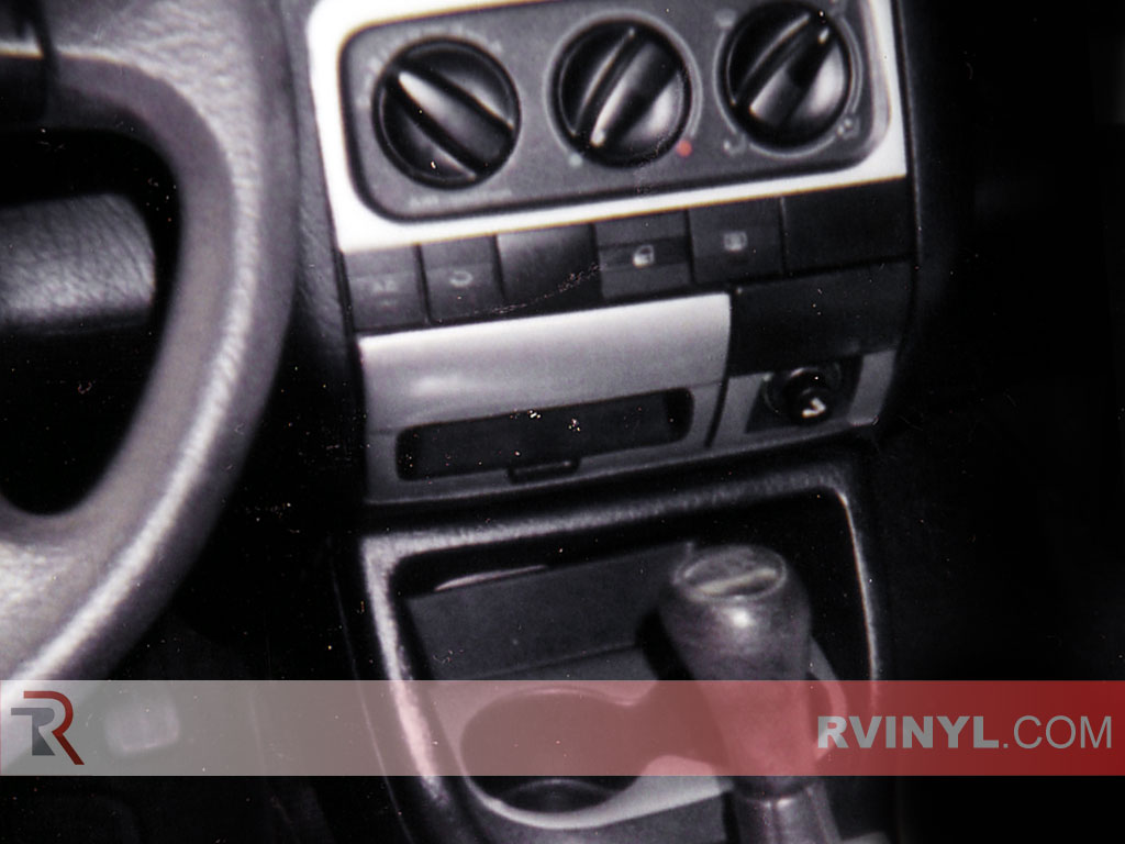 Volkswagen Cabrio 1995-2002 Aluminum Dash Kits With Brushed Finish