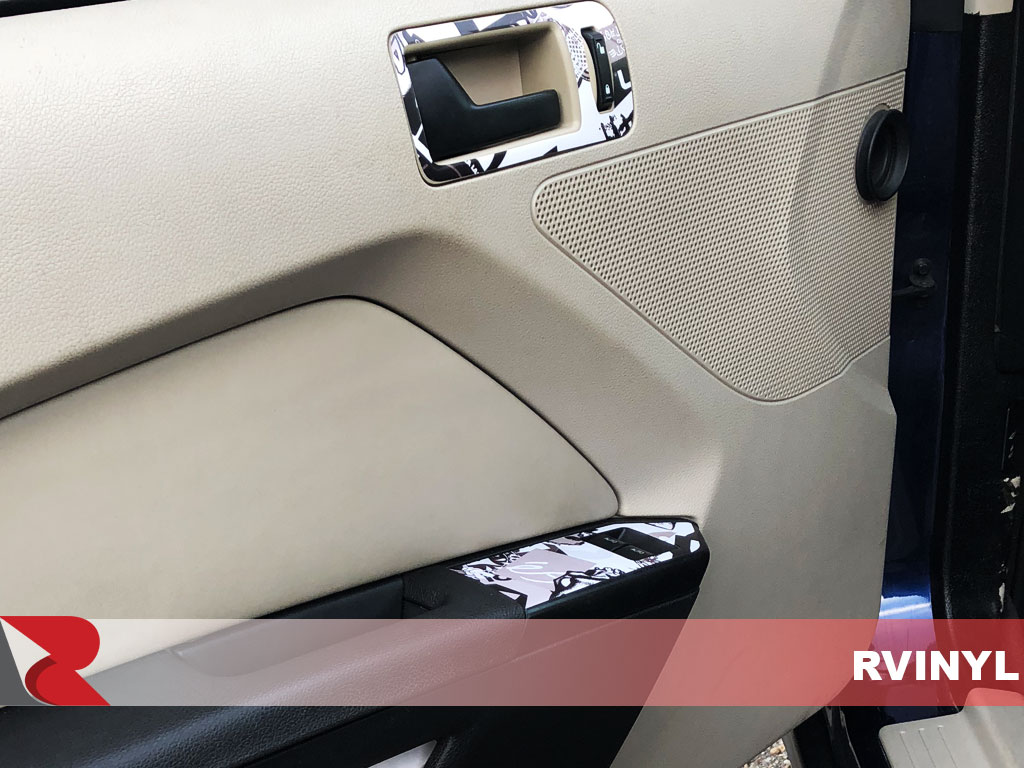 Rdash Ford Mustang 2010 Venice Beach Sticker Bomb for Driver Door Handle