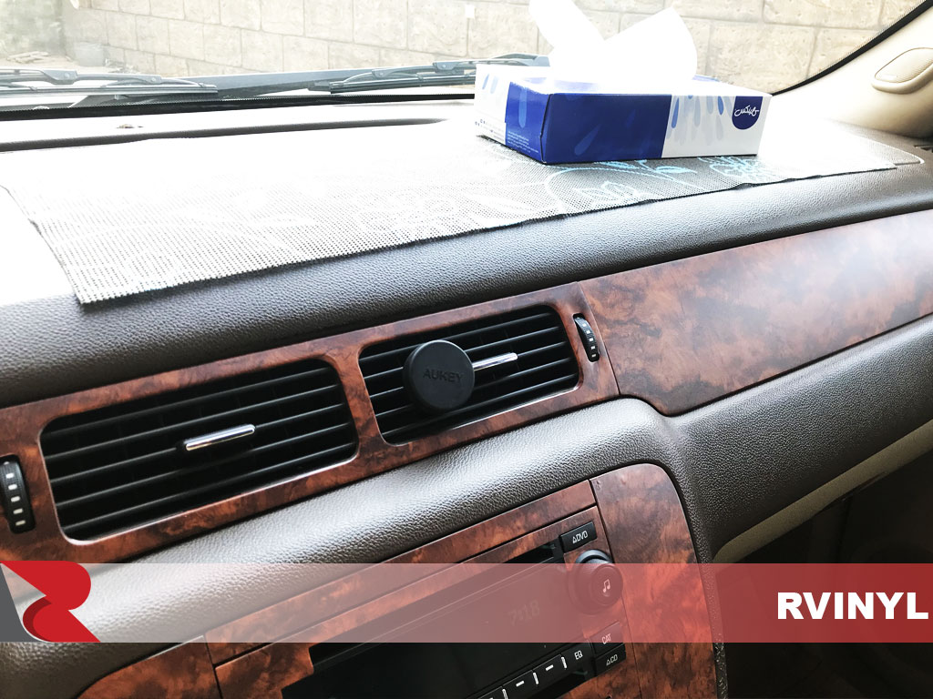 Rdash 2007 GMC Yukon Ventilation With Burlwood Honey Dash Trim