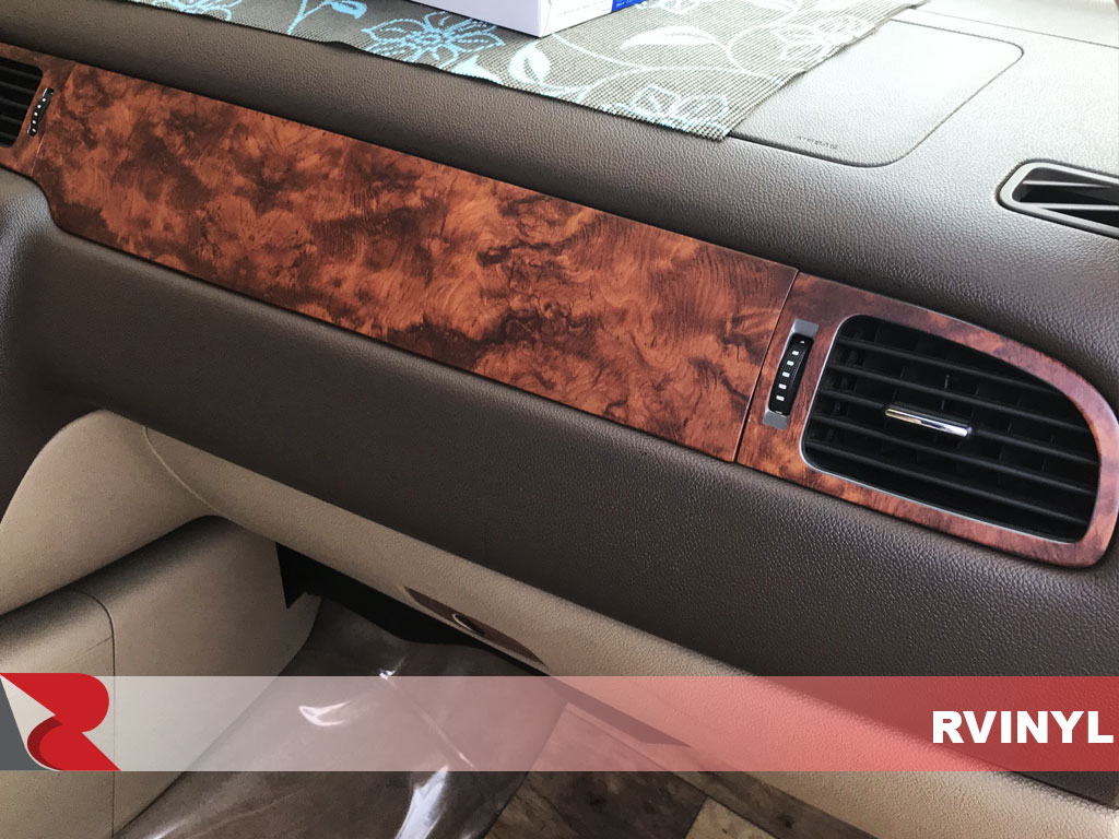 Rdash 2007 GMC Yukon Passenger Vent With Burlwood Honey Dash Trim
