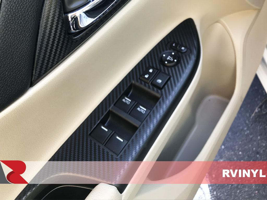 Rdash Carbon Fiber Driver Door Control Trim