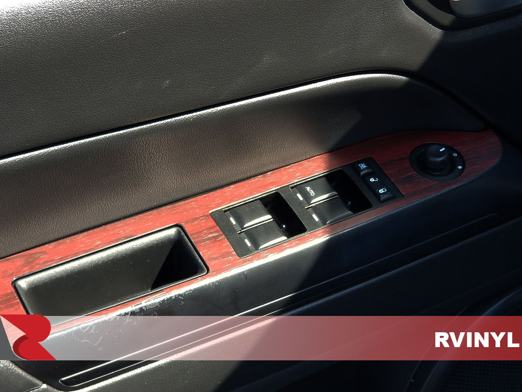 Rdash Jeep Custom Mahogany Wood Grain Dash Trim
