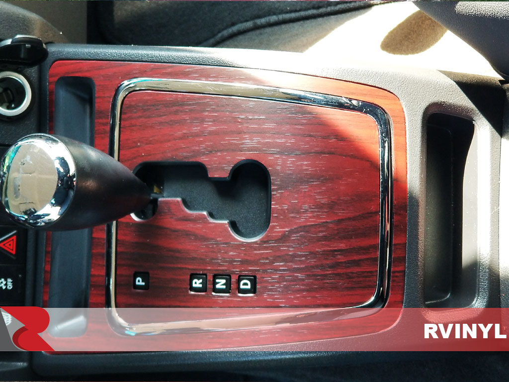 Rdash Jeep Custom Shift Control Mahogany Wood Grain Dash Trim