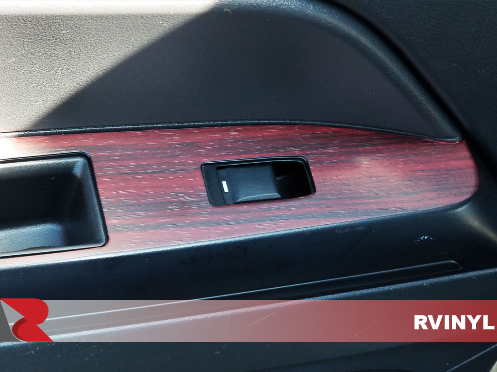 Rdash Jeep DIY Custom Mahogany Wood Grain Dash Trim