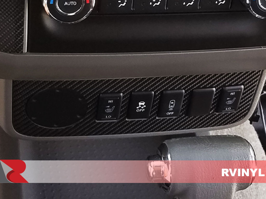 Rdash 2013 Nissan Frontier Cruise Control with Carbon Fiber 3D Black Dash Trim