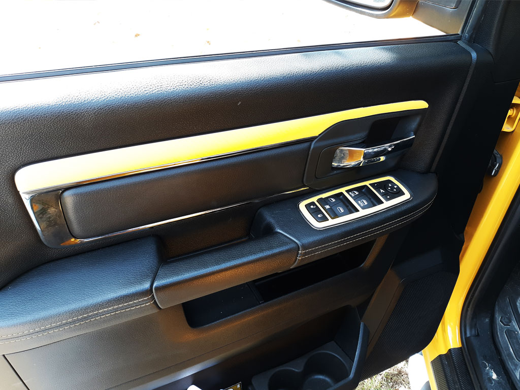 Rdash Rdash™ Ram 1500 Driver Dash Trim With 3D Carbon Fiber Yellow