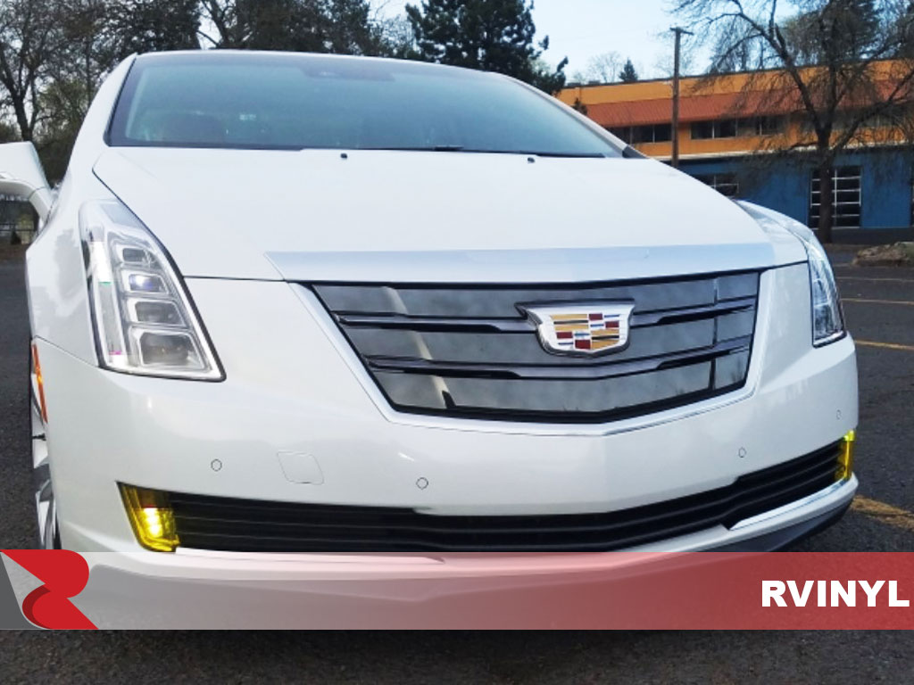 2014 Cadillac ELR 2014 With DIY Neon Smoke Fog Light Protection Kit