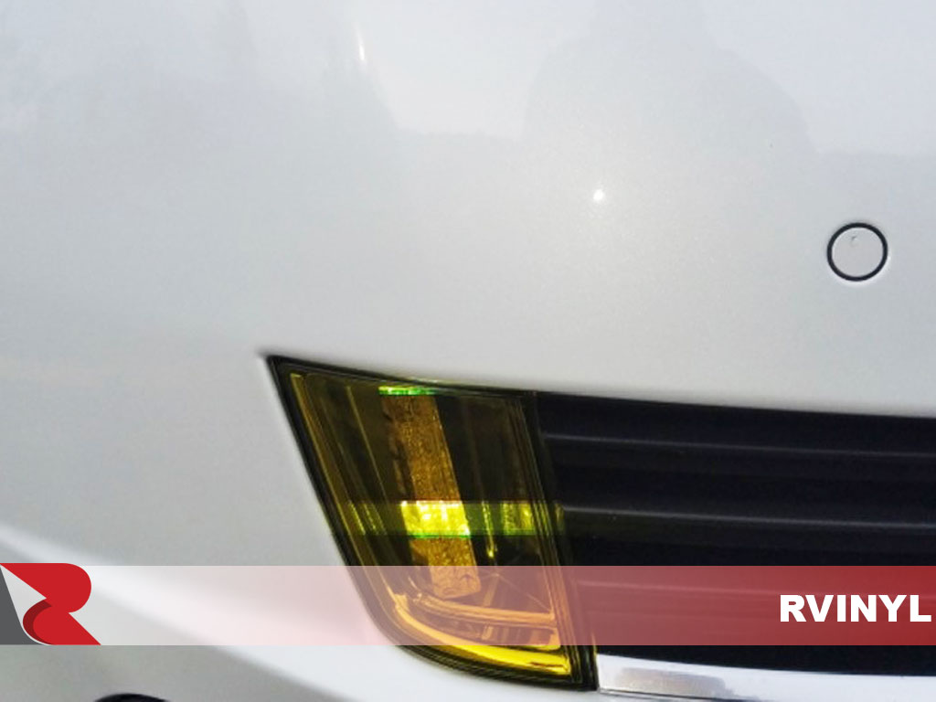 2014 Cadillac ELR 2014 Close Up With Neon Smoke Fog Light Protection Kit