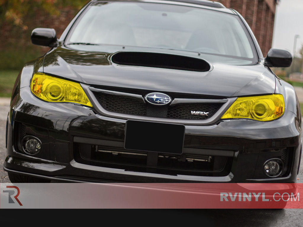 Yellow Smoked Headlight Wraps