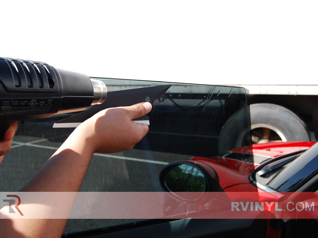 How to Squeegee Precut Window Tint