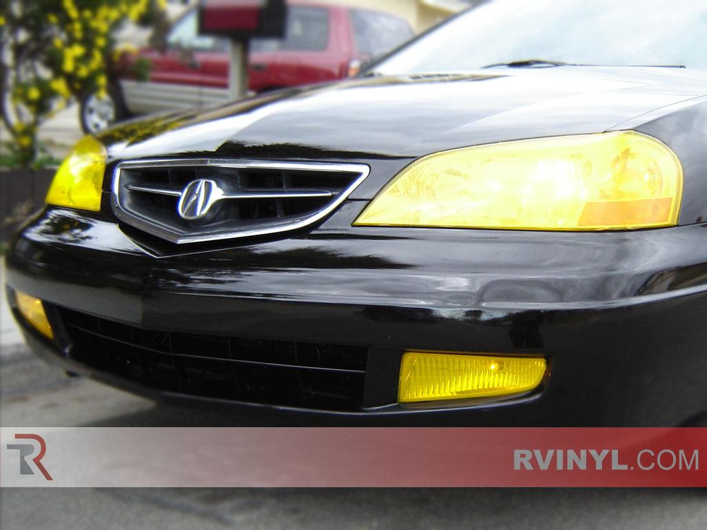 Rtint Acura CL Headlight Tint Film - 2001 acura cl headlights