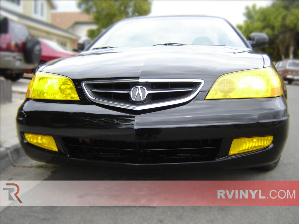 Acura Cl 2001 2003 Yellow Headlight Covers