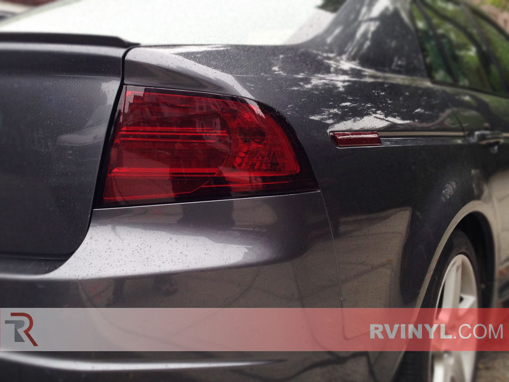 Rtint Acura TL Tail Light TintFilm - Acura tl taillights