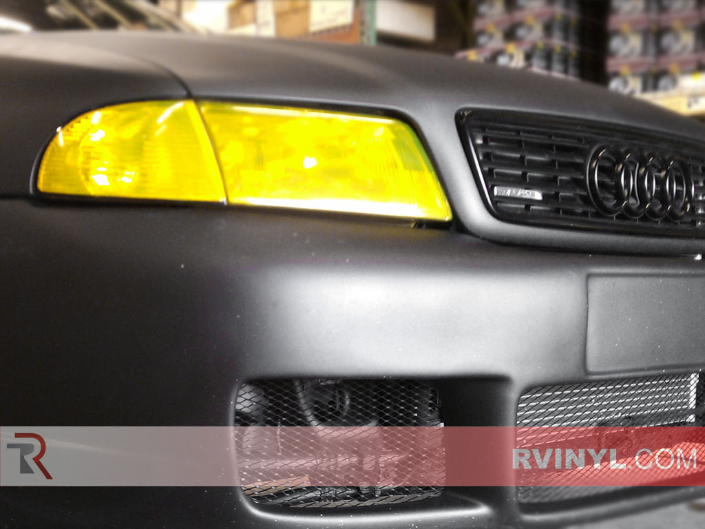 Rtint™ Audi A4 1996-1998 Yellow Headlight Tints