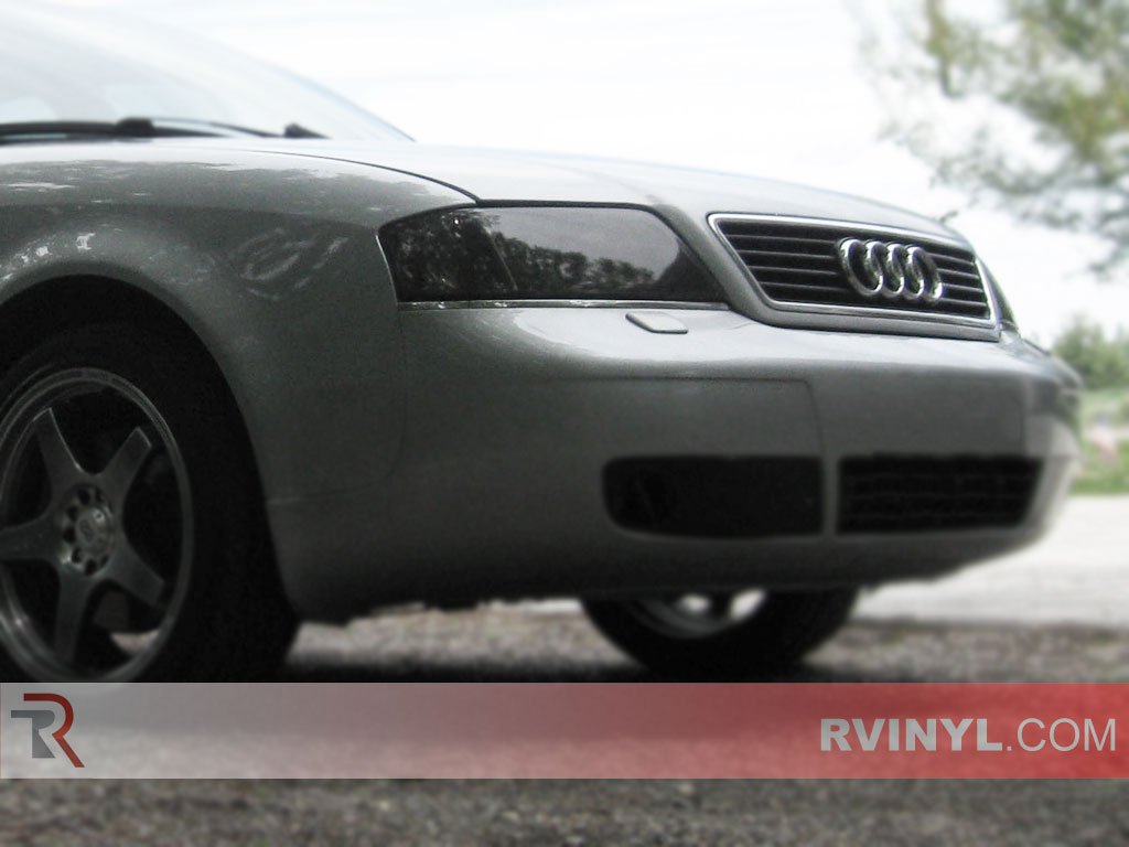 Audi A4 1999-2001 Smoked Headlight Covers
