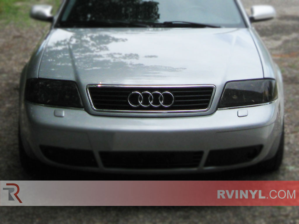Audi S4 2000-2001 Headlight Tints