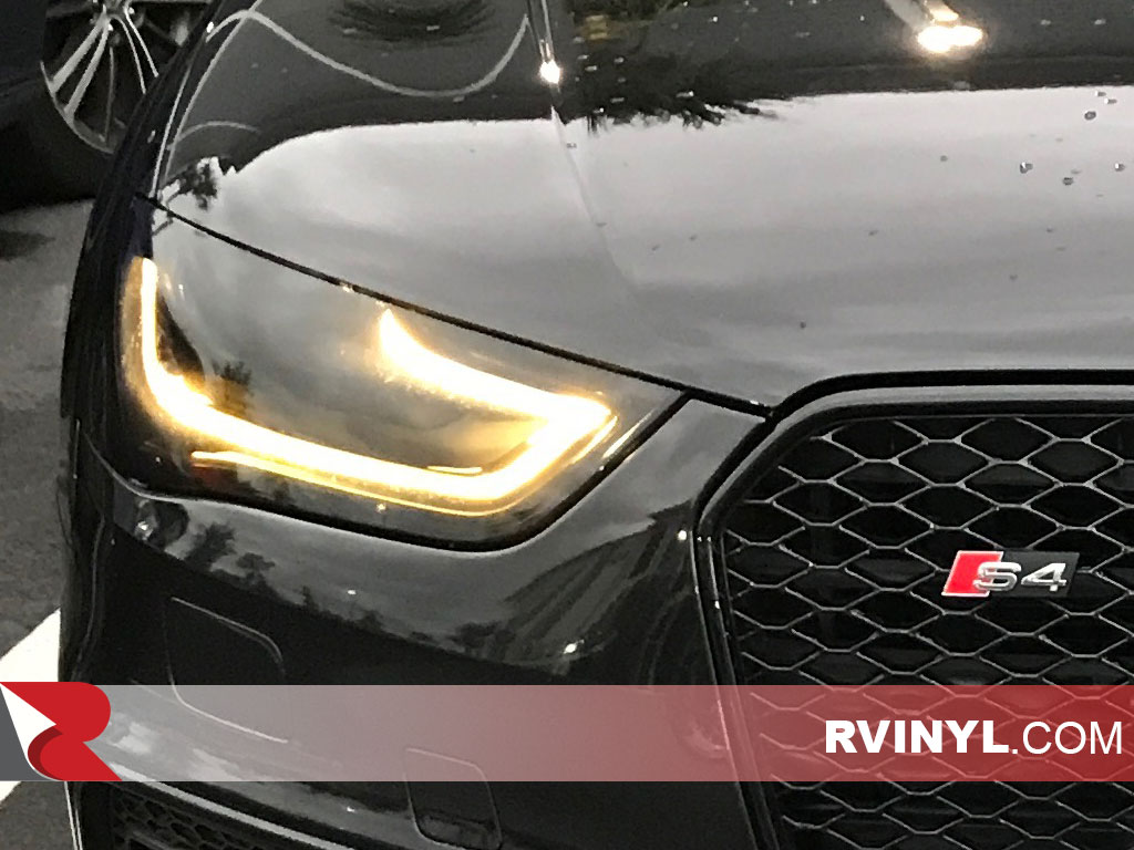 Rtint  2013 2016 Audi S4 Blackout Headlight Tint