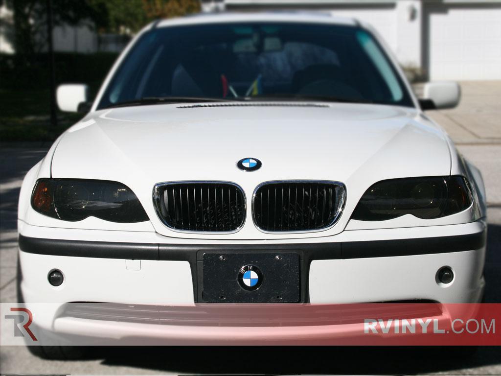 Rtint BMW Series Sedan Headlight Tint Film - 2001 bmw 328i