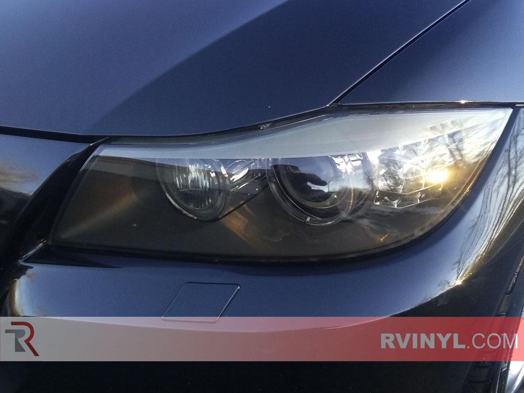 rtint bmw 3 series sedan wagon 2006 2011 headlight tint. Black Bedroom Furniture Sets. Home Design Ideas