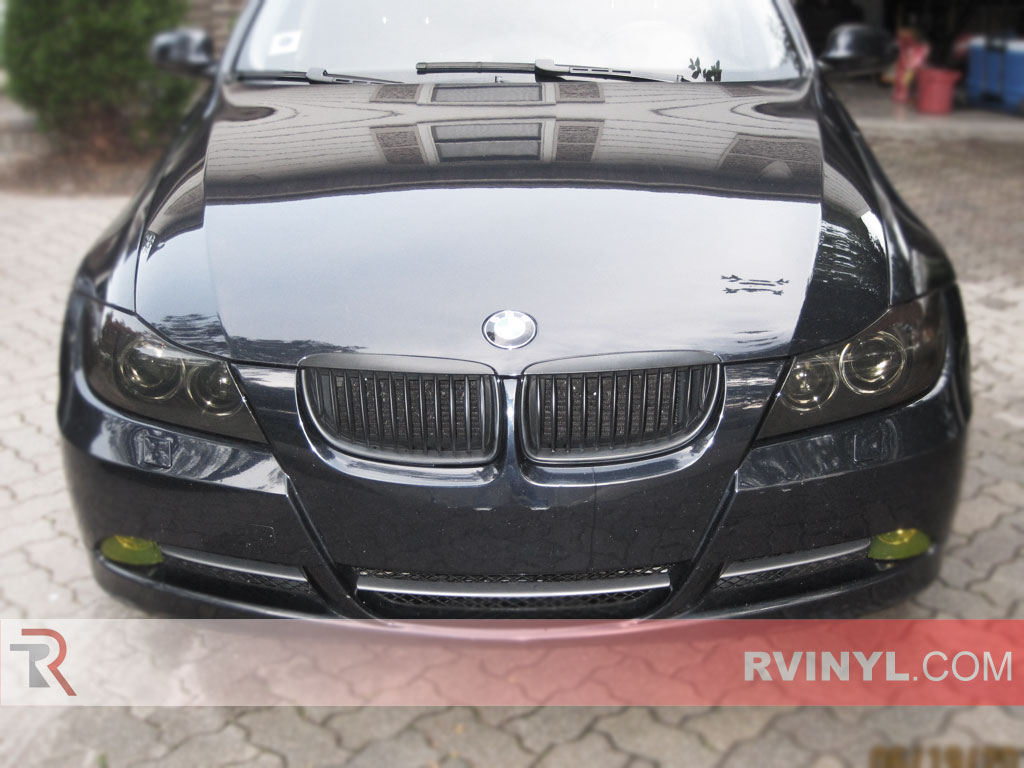 BMW 3-Series 2006-2011 Black Out Headlights