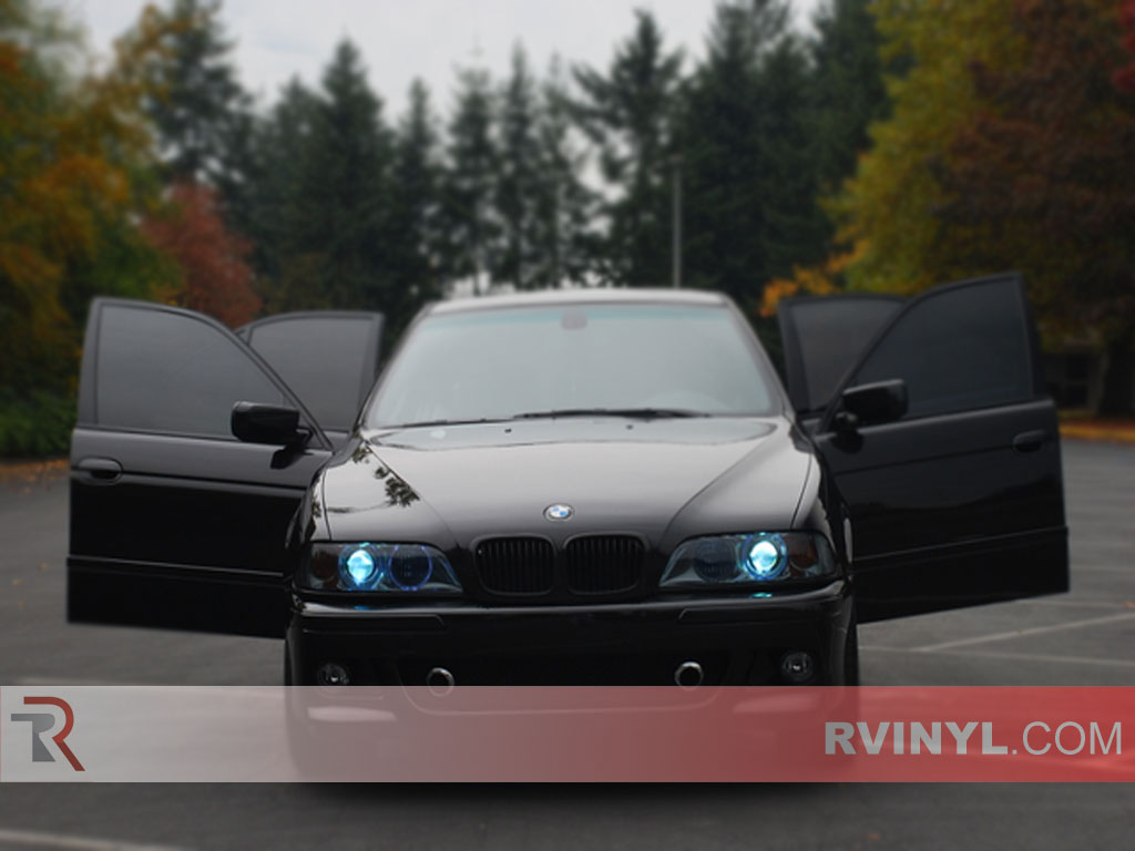 BMW 5-Series 1997-2003 Tinted Headlights