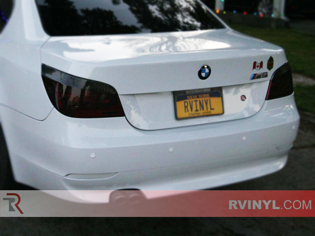 Rtint Bmw 5 Series Sedan 2004 2010 Tail Light Tint Film