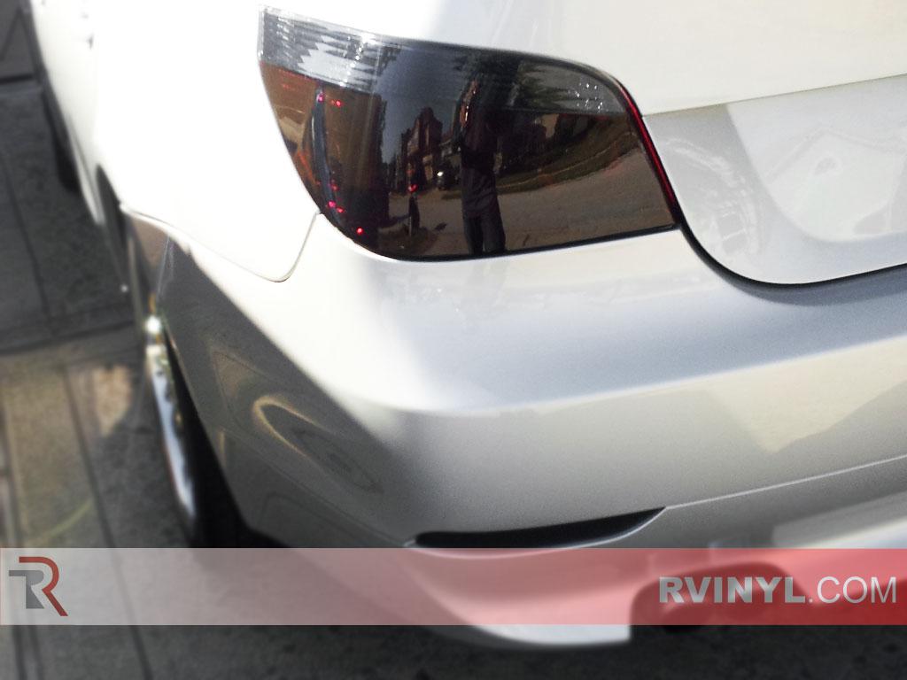 BMW 5 Series Sedan 2004 2010 Precut Tail Light Tint