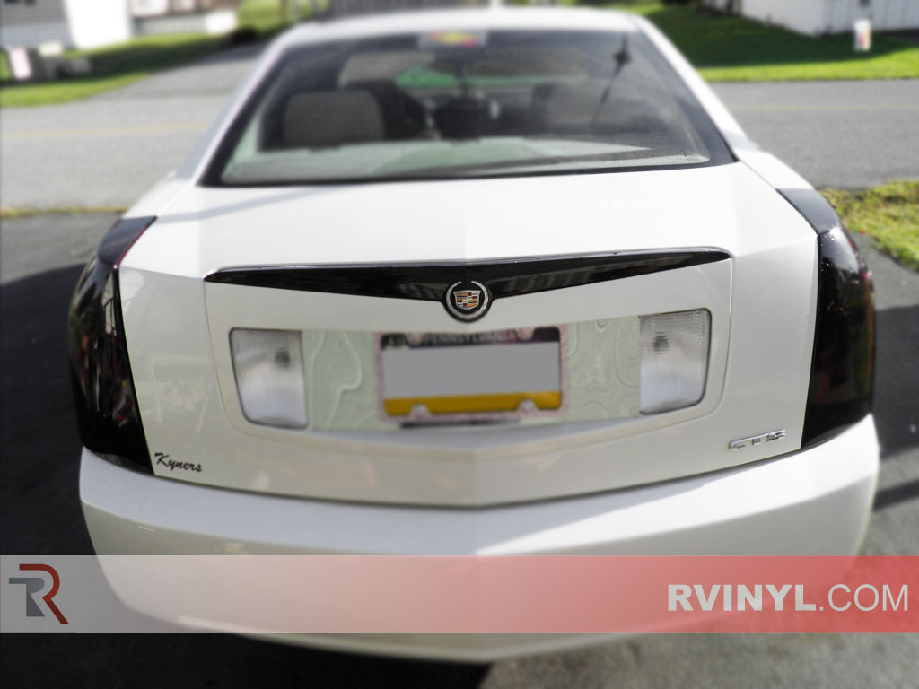 cadillac cts 2003 2007 blackout tail lights