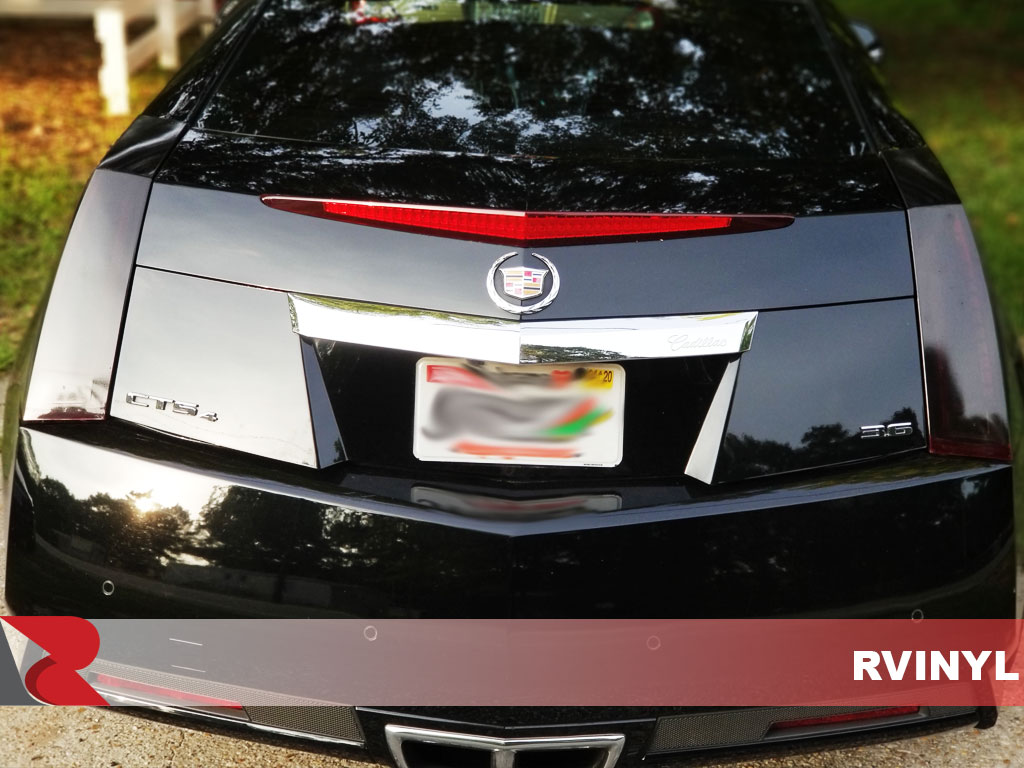 Rtint Tail Light Tint Precut Smoked Film Covers for Cadillac CTS 2008-2013 Sedan