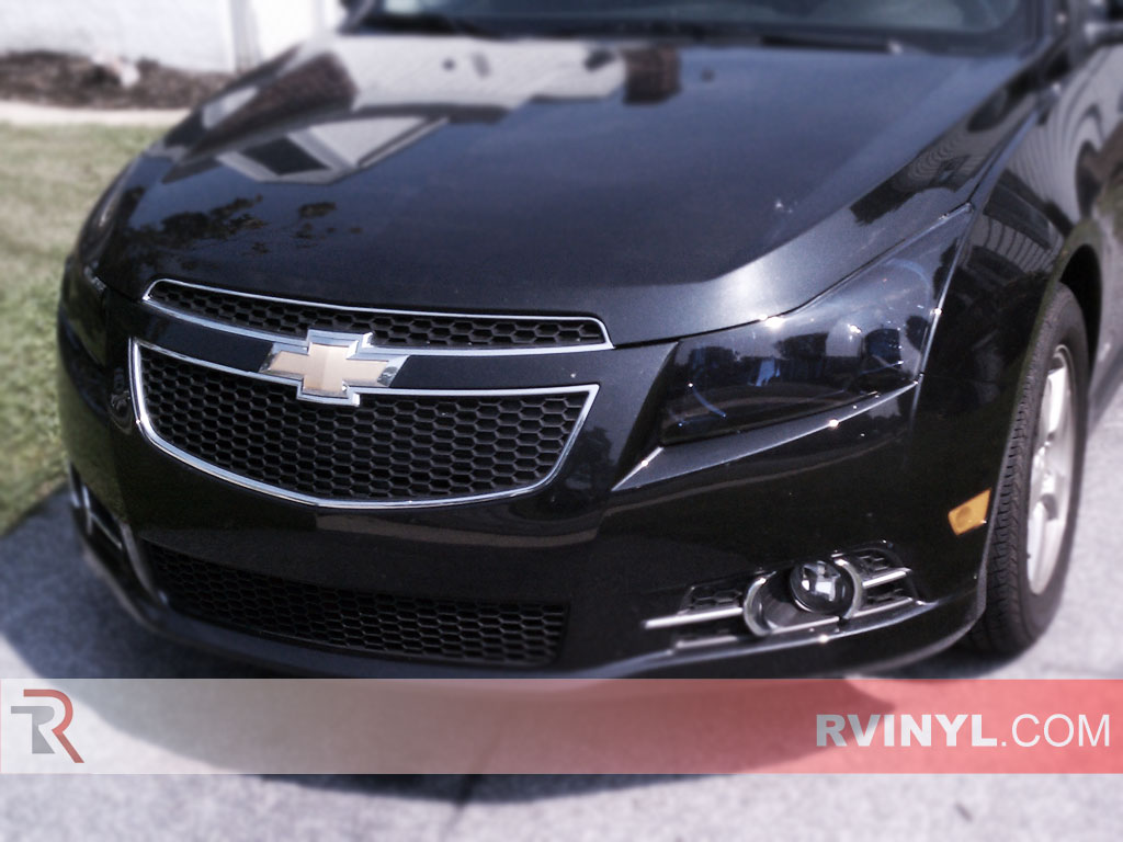 chevrolet cruze 2011 2016 black headlights