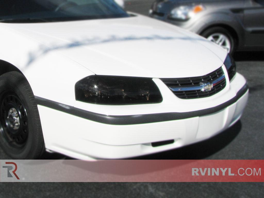 Chevrolet Impala 2000 2005 Smoked Headlights