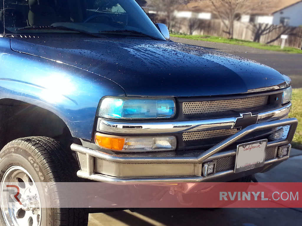 Chevrolet Silverado 1999 2002 Headlight Tints