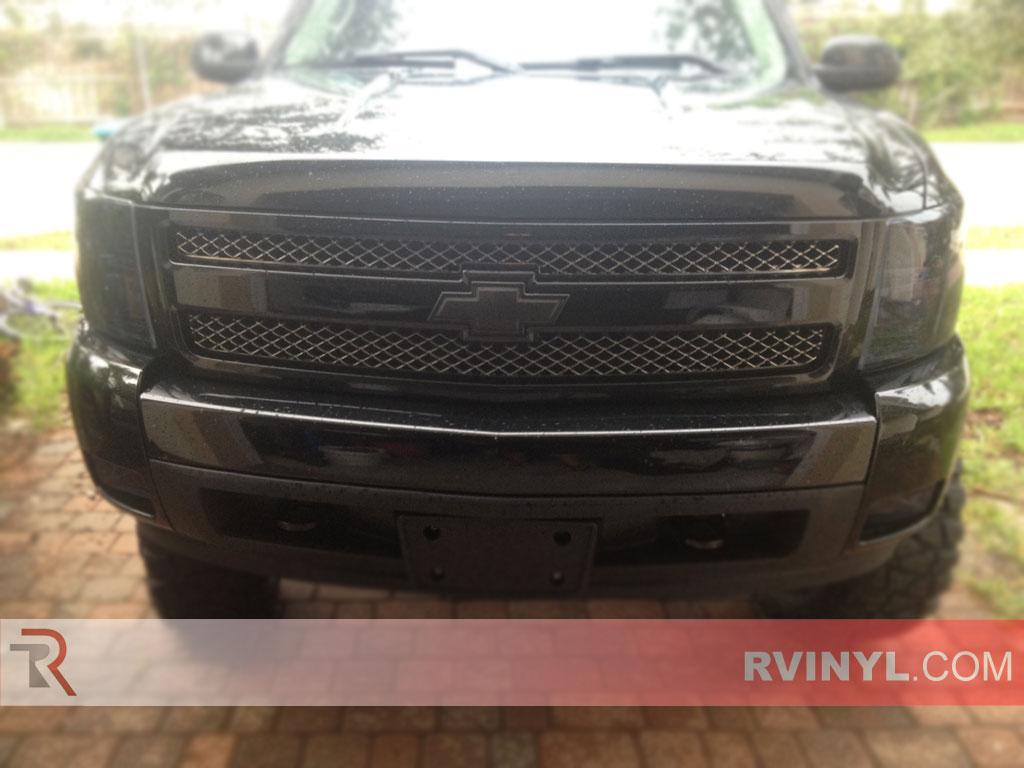 Chevrolet Silverado 2007 2017 Headlight Overlays