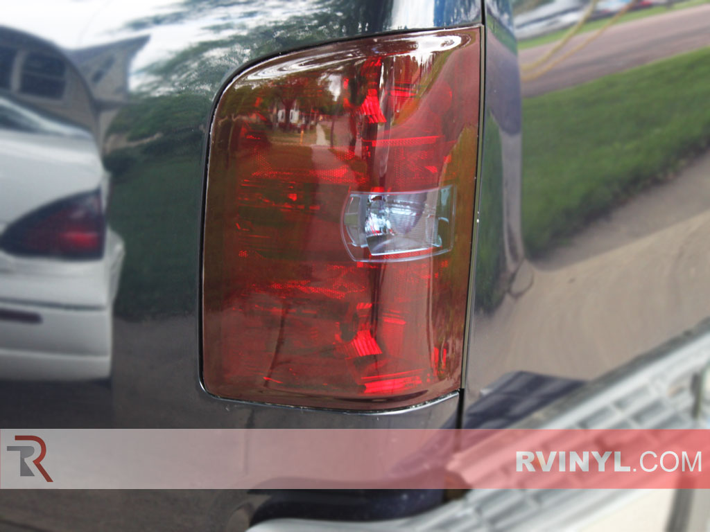 Rtint 174 Chevrolet Silverado 2007 2013 Tail Light Tint Film