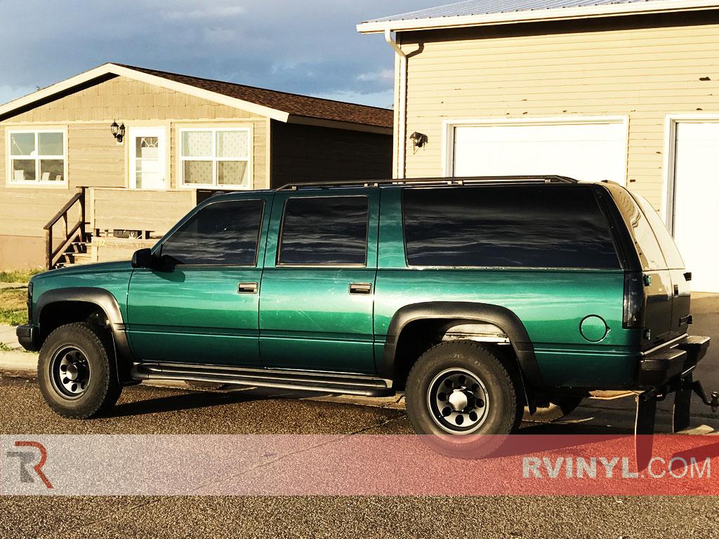 rtint 1992 1999 chevrolet suburban window tint kit
