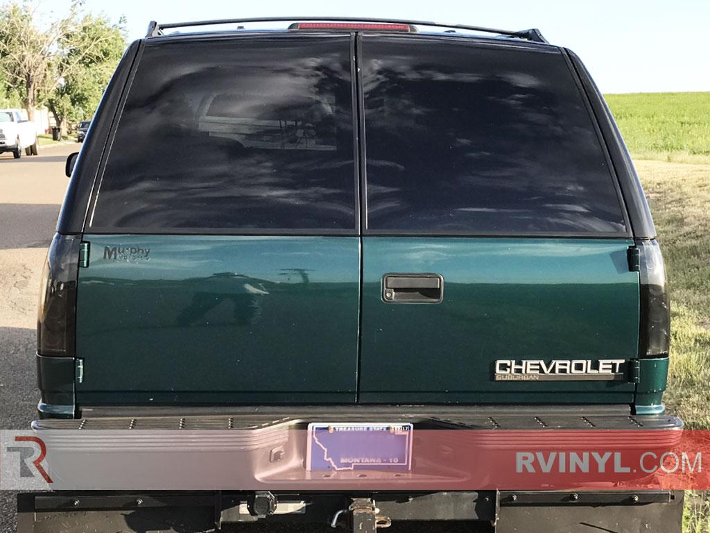 Rtint Chevrolet Suburban 1992 1999 Window Tint Kit Diy