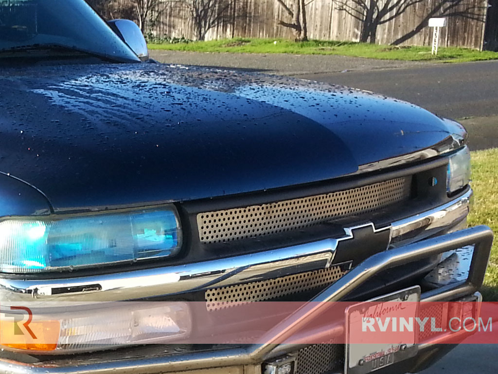 Chevrolet Tahoe 2000-2006 Smoked Headlights