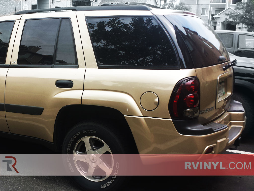 Precut Back Window Tint Chevy Trailblazer LS