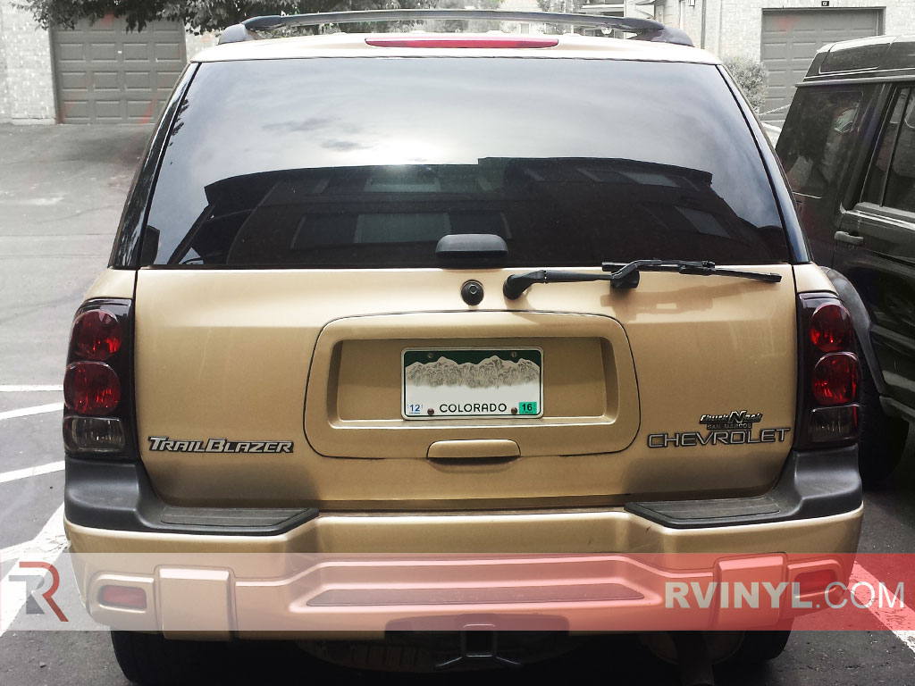 Chevy Trailblazer Rear Windshield Tint Kit