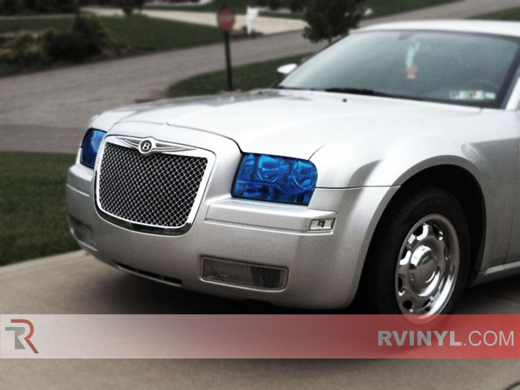 Chrysler 300 2005 2010 Smoked Headlights