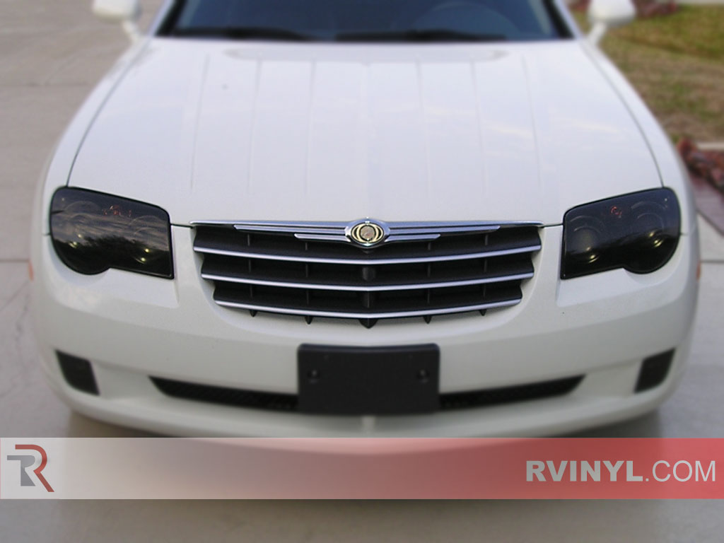 chrysler crossfire blacked out. chrysler crossfire 20042008 blackout headlights blacked out y